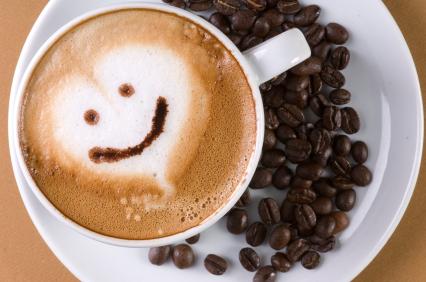 Káva šálka