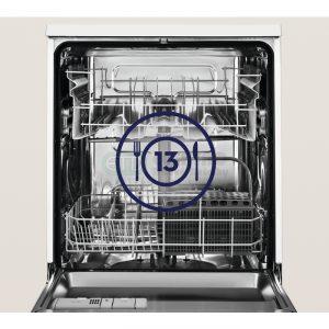 Vnútorné - rozloženie umývačky
