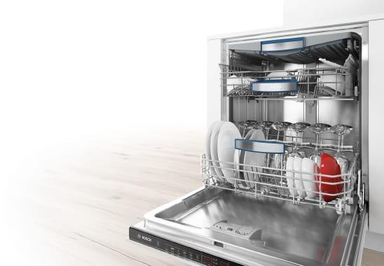 Vnútorné usporiadanie umývačky