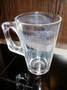 umývačka riadu - zle umyté sklo