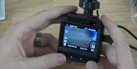 Displej-autokamery
