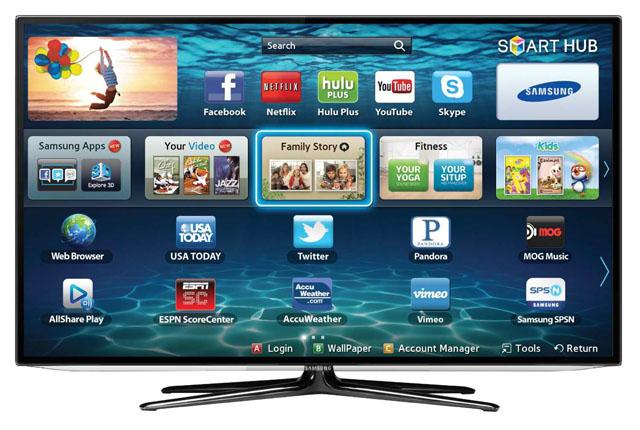 Inteligentný televízor