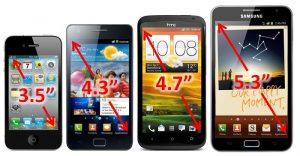 Mobilné-telefóny-rozmery