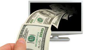 Televízor-a-peniaze