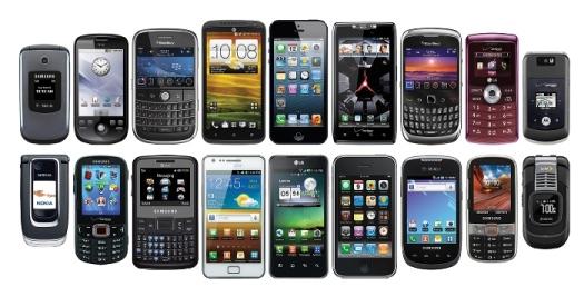 Typy-mobilných-telefonov