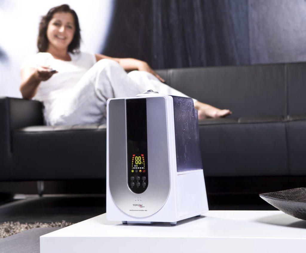 Zvlhčovač-vzduchu-na-diaľkové-ovládanie