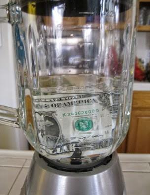 smoothie- mixér- peniaze