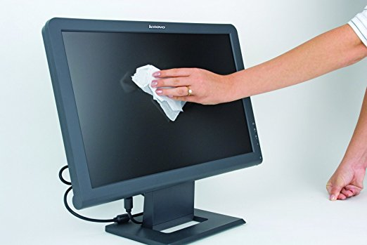 Čištění PC monitoru