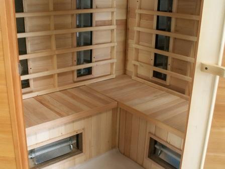 Materiál sauny