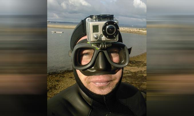 Outdoorová-kamera-potápanie