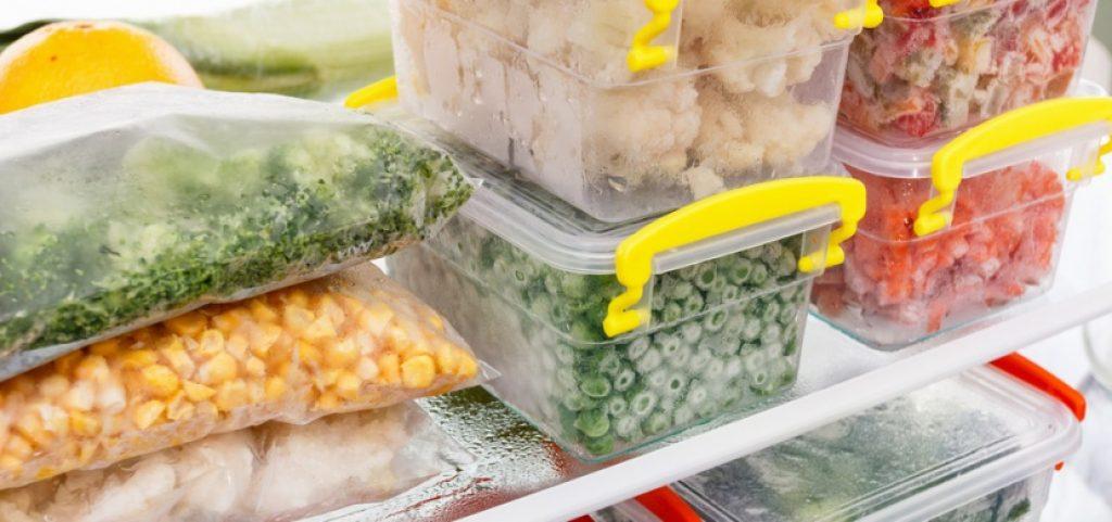 Potraviny v mrazáku