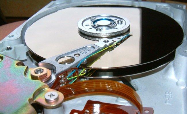 Externí disk mechanismus