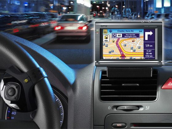 GPS-navigácia-v-automobile