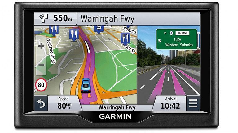 GPS-navigácia-zobrazenie