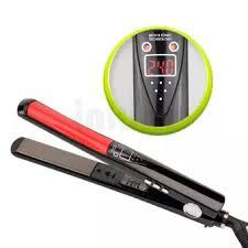 žehlička- na vlasy- LCD-displej