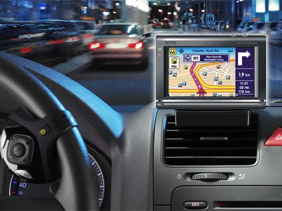GPS-navigace-v-automobilu