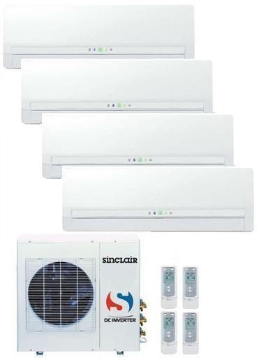 Klimatizace-vícejednotková