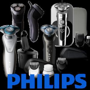 Holicí strojky Philips bez pozadí