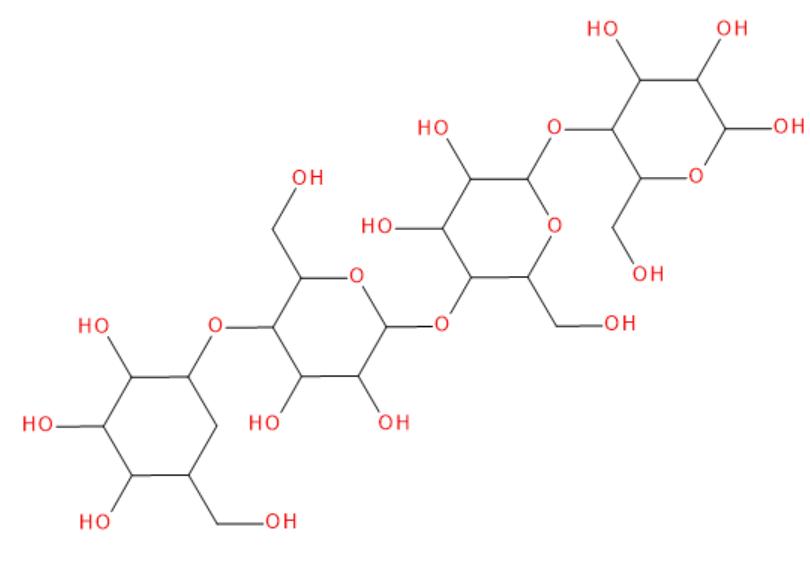 Vzorec glukomannanu