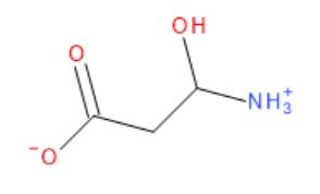 Vzorec L-karnitinu